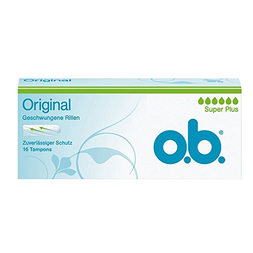 O.B. 0000007 originali super plus Tampons - 16 pezzi