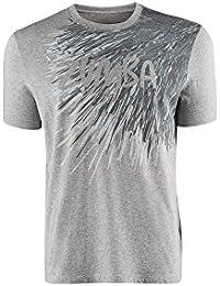 Zumba Fitness Frill Me Graphic Ärmelloses Shirt, Grau