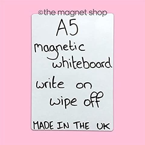 A5 Dry Wipe Magneitc Whiteboard Flexible Notice