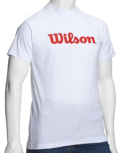 Zoom IMG-1 wilson maglietta da uomo bianco