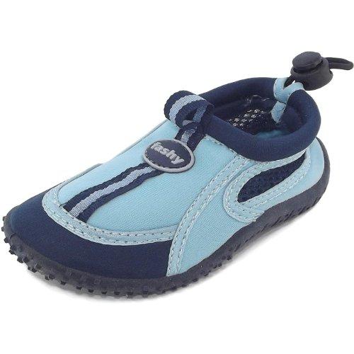 Fashy Guamo 7495 Kinder Aqua-Schuhe, dunkelblau/hellblau, Gr. 27 EU / 9.5 UK Y