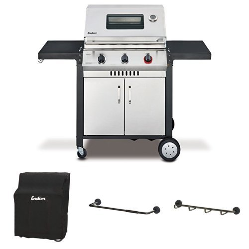 Enders Gasgrill Monroe 3 S Turbo Wetterschutzhlle Grill Mags