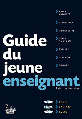 Lire Guide du jeune enseignant pdf, epub