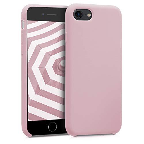 kwmobile Apple iPhone 7/8 Hülle - Handyhülle für Apple iPhone 7/8 - Handy Case in Peach Skin Iphone Silicon Skin Cover