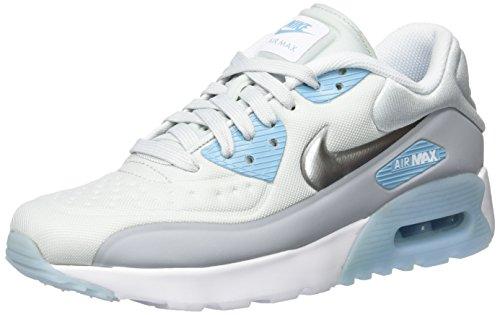 Nike AIR Max 90 Ultra Se (GS) - Baskets Fille, Argenté, 37.5