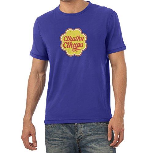 TEXLAB - Cthulhu Cthups - Herren T-Shirt Marine