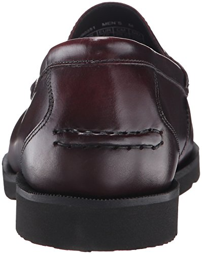 Rockport - Chaussures à pampilles Modern Prep pour hommes Burgundy