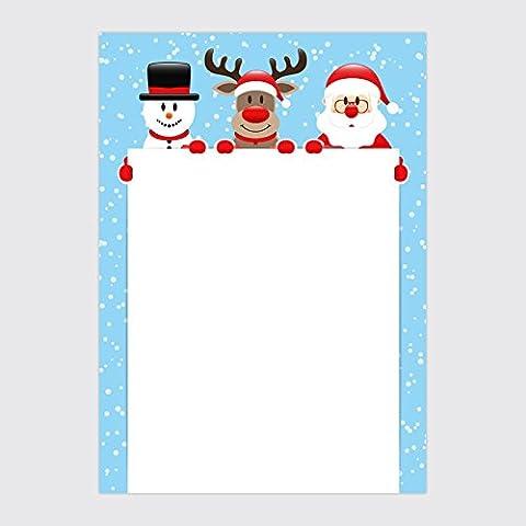 """Designpapier """"Weihnachten - Weihnachtsportrait"""" - DIN A4 / 25 Blatt"""