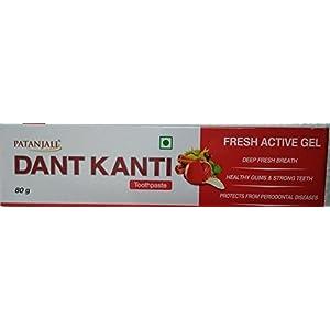 Patanjali Dant Kanti Fresh Active Gel – 80 g