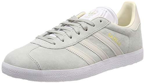 adidas Gazelle W, Chaussures de Running Femme, Multicolore (Ash Silver/Clear Brown/Ecru Tint S18 Cg6065), 37...