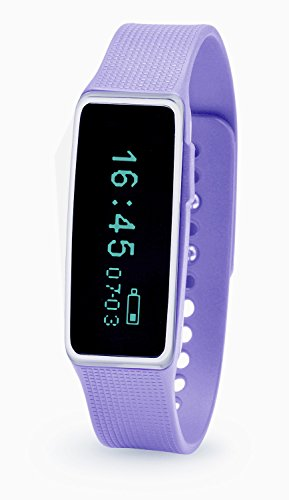 Nuband Activ+ Activity Tracker with Sleep Tracking - Lilac