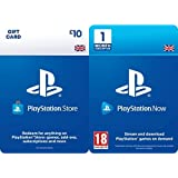 PlayStation PSN Card 10 GBP Wallet Top Up | PS5/PS4 | PSN Download Code - UK account + PlayStation Now - Subscription 1…