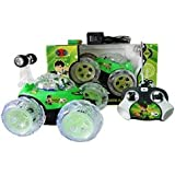 BEN 10 R/C Stunt Super Car, Green