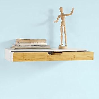 design trend regal board 60 x 24 cm wei als wandregal holz mit schublade k che. Black Bedroom Furniture Sets. Home Design Ideas