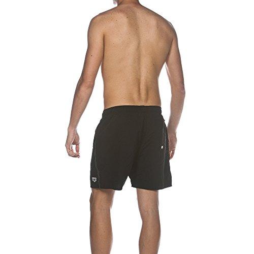 Arena Short de bain Fundamentals Boxer Hommes Noir - noir/blanc