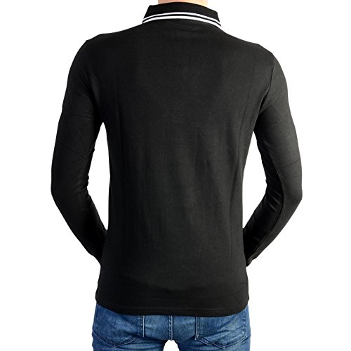 Kaporal 5 Polo-Hemd Nizo Black Noir