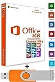 Unleashed-Shop-Bolt Microsoft Office 2019 Professional Plus USB Stick - 32 / 64 Bit - Lizenz Key - Produktschlüssel - 1 Aktivierung