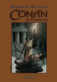 Conan de Cimmeria par  Robert E. Howard