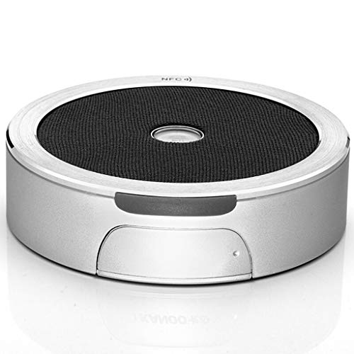 Duminjun Audio inalámbrico de Bluetooth NFC, Mini Altavoz portátil estéreo al Aire...