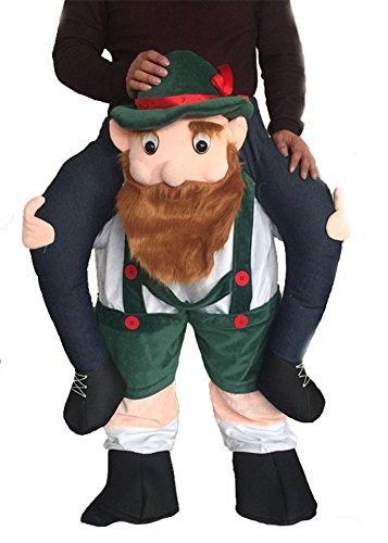 TGP Riding on Shoulder Weihnachten Neuheit Hose Oktoberfest -