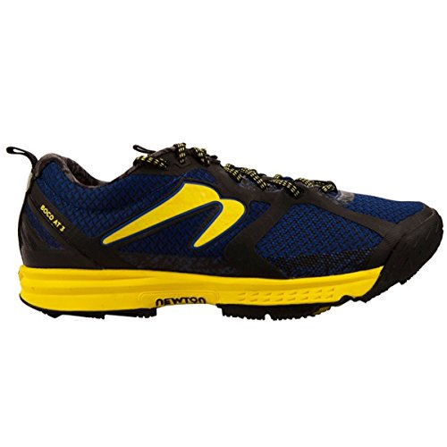 Newton Running Herren Men's Boco At Iii Trail Running Shoe Traillaufschuhe, Blau (Blue/Maize), 43 EU Herren Geboren Schuhe
