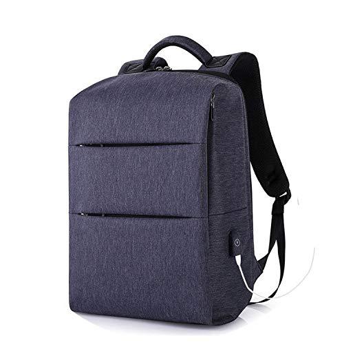 aliennoun bag Laptop-Rucksäcke für 39,6 cm (15,6 Zoll) Computer, Reisen, Gepäck, USB-Ladegerät, Schwarz / Grau Bluegrey Einheitsgröße -