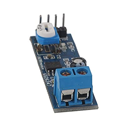 Generic E_14017575 Imported Lm386 200 Gain Audio Amplifier Module Board Adjustable Volume for Arduino