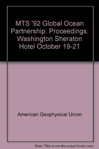 mts-92-global-ocean-partnership-proceedings-washington-sheraton-hotel-october-19-21