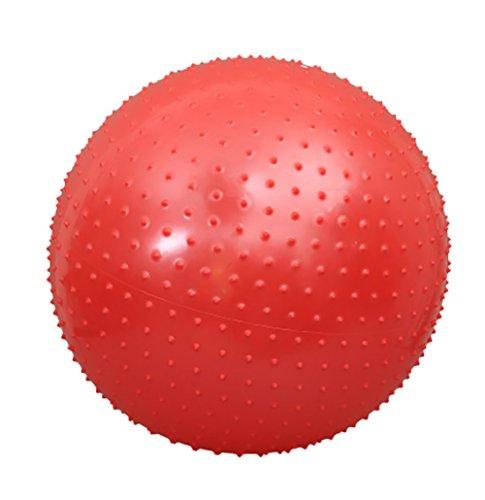 RUIX Gymnastikball (Berstsicher, Fitness-Ball, Sitzball, Yogaball, Pilates-Ball, Balance),Red,L