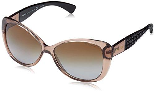 Ralph Lauren Purple Label Damen RA5180 1031T5 Sonnenbrille, Braun (Brown), One size (Herstellergröße: 58)