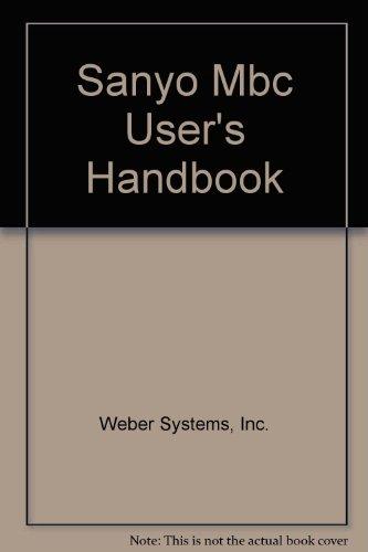 Sanyo Mbc User's Handbook Sanyo System