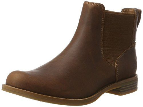 Timberland Damen Magby Pull-on Chelsea Boots, Braun (Light Brown), 39 EU