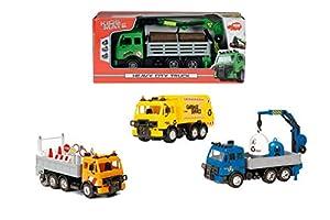 Dickie Toys 3744003 vehículo de Juguete - vehículos de Juguete (Multi, Niño, Pull-Back, Interior / Exterior, Window Box)