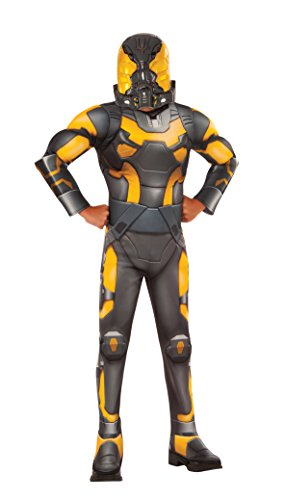 Ant-Man Yellow Jacket Deluxe Costume, Child's Medium (Kinder Deluxe Ant Man Kostüm)