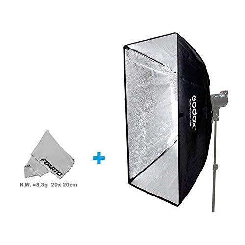 "Fomito 80 X 120 cm / 31,5 ""X 47,24\"" Studio Beleuchtung Foto Softbox Bowens Halterung für Light Flash, für Godox, für Jinbei, für Neewer Strobe / Flash Light und andere Studio Flash Light"