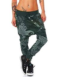 Zarup♥♥♥Pantalones de Hip Hop Unisex Moda Hombre de Mujer Pulpo Imprimir  Pantalones Deportivos Holgados Sueltos Pantalones… a25be7caf12d