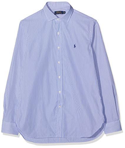 Ralph Lauren A02WZZ00CYY08 C4ZZ3, Camicia Uomo, Blu Bianco, 50 f13de4bb780