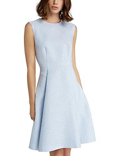 APART Fashion Damen Kleid 67859, Blau Smokyblue, 40