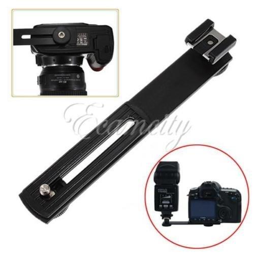 Generic Blitzschuh-Blitzgeräte-Halter-Armlehnen mit Halterung für Canon/Nikon/Sony)<1&1673*1>