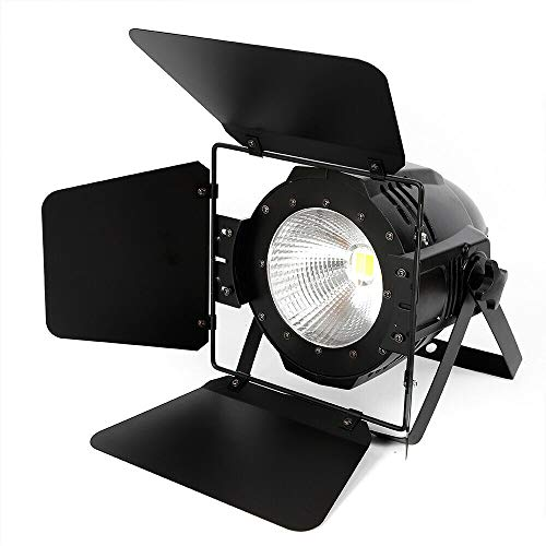 100W COB LED Flash Floodlight PAR 2in1 Bianco Warm White DMX Par Stage Lighting illuminazione palcoscenico