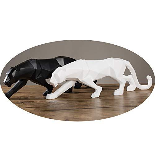 dor/é c/éramique 25/x 9,5/x 15/cm Sukima Decor Figurine avec Motif l/éopard