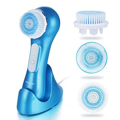 KINGDOMCARES Gesichtsreinigungsbürste Gesichtsbürste Wasserdicht Elektrisch Gesichts-Massagegerät...