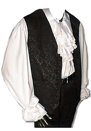 New Romantic Gothic Pastorenhemd Aziru  Inter Moden