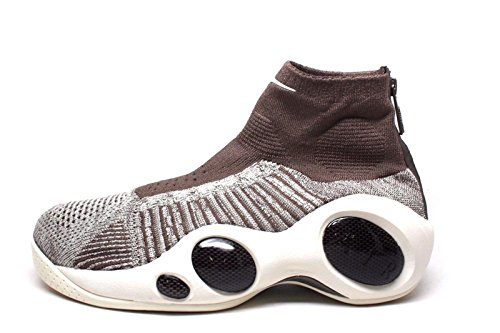 Nike Flight Bonafide Herren Hi Top Basketball Trainers 917742 Sneakers Schuhe (UK 7.5 US 8.5 EU 42, Dark Mushroom Pale Grey sail 201) (Flight 97 Jordan Air)