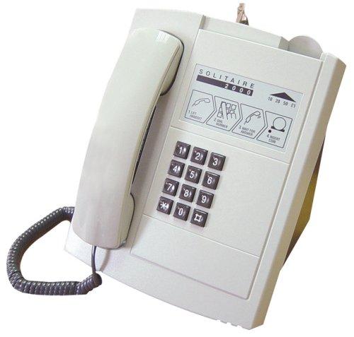 Usato, Solitaire 2000 - Telefono a gettoni da scrivania, colore: usato  Spedito ovunque in Italia
