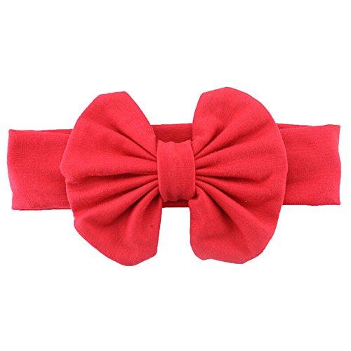 Sanwood® Cute Baby Girls Kids Stretch Bowknot Headband Hairband
