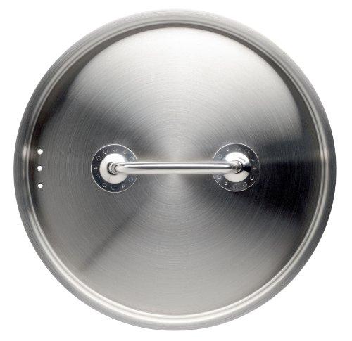 Josef Mäser Domestic Professional 811063 - Coperchio da 24 cm, in acciaio INOX 18/10, spessore 0,6 mm
