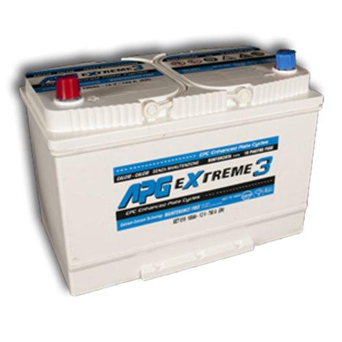 APG XET619L Extreme 3 - Batteria auto, 100Ah