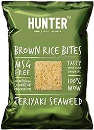Hunter Brown Rice Bites Teriyaki Seaweeds - 110gm