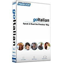 Pimsleur goItalian Course - Level 1 Lessons 1-8 CD: Learn to Speak, Read, and Understand Italian with Pimsleur Language Programs (go Pimsleur)